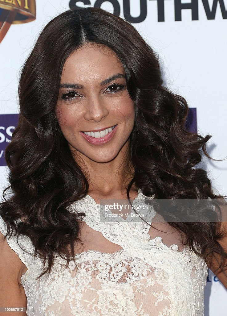 Television reporter Terri Seymour attends the 2013 Jenesse Silver Rose Awards Gala and Auction at Vibiana on April 6, 2013 in Los Angeles, California.