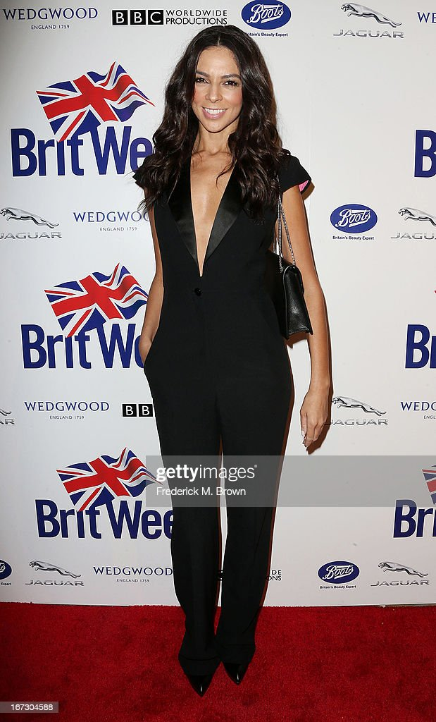 Television reporter Terri Seymour attends the launch of the Seventh Annual Britweek Festival 'A Salute to Old Hollywood' on April 23, 2013 in Los Angeles, California.