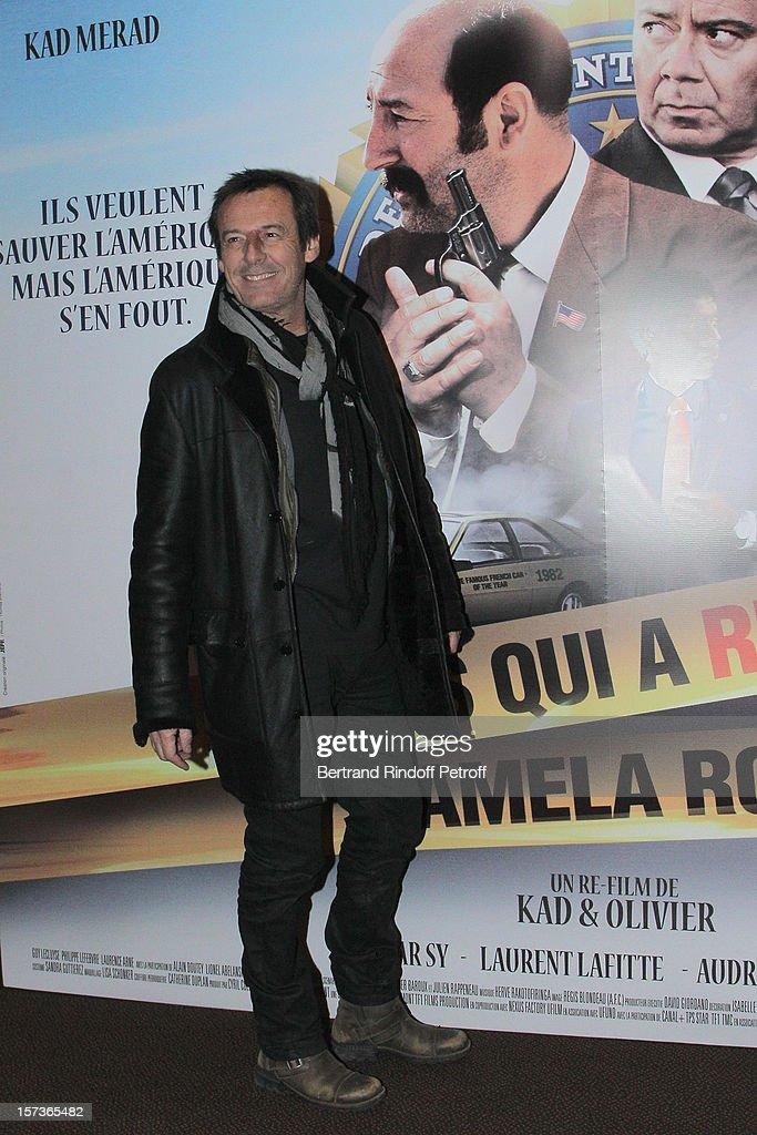 Television show host Jean-Luc Reichmann attends the Paris Premiere of the movie 'Mais Qui A Re Tue Pamela Rose', at Cinema Gaumont Marignan on December 2, 2012 in Paris, France.