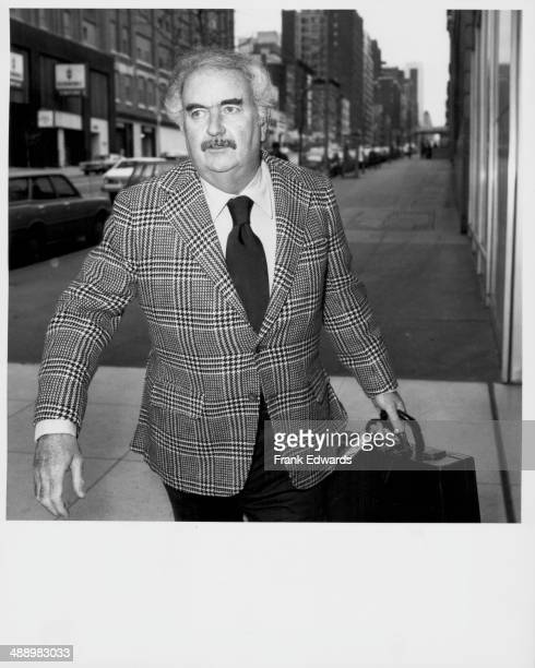 Television star Bob Keeshan arriving in New York City May 1975