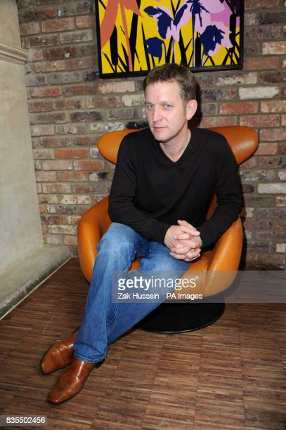 Television talk show host Jeremy Kyle during a portrait session at the Hoxton Hotel in east London ahead of the launch of his new book 'I'm only...