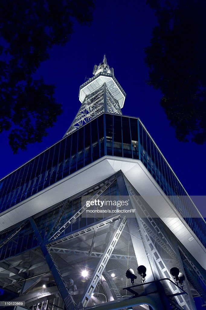 Television Tower at Night