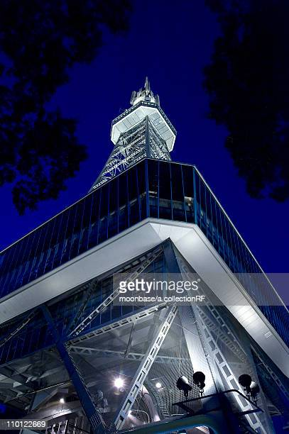 Television Tower at Night