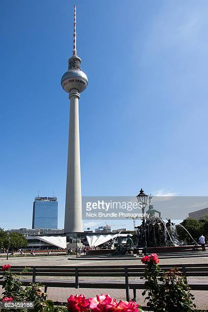 Television Tower in central Berlin, Germany