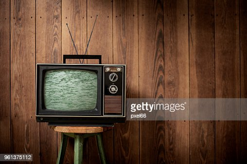 Television - Vintage : Stock Photo