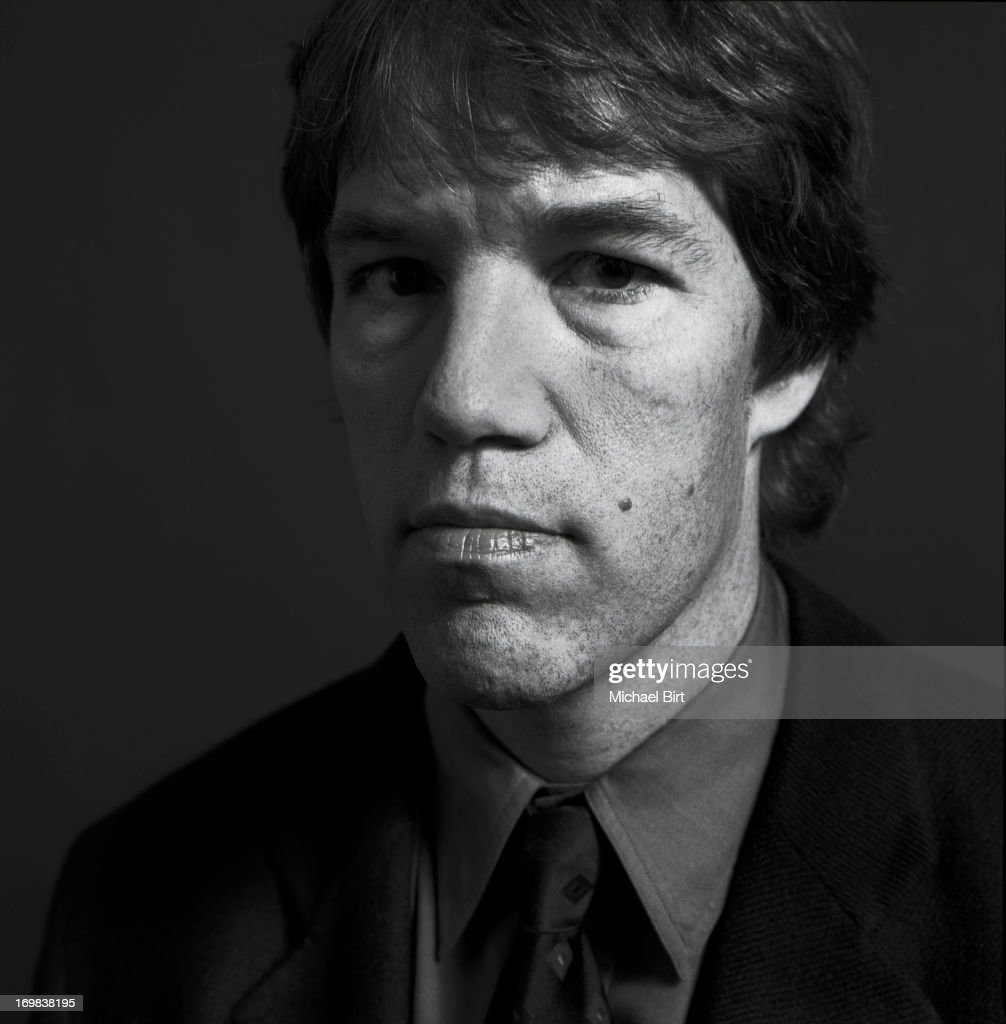 Television writer and producer David E. Kelley is photographed for Talk magazine on September 5, 1999 in New York City.