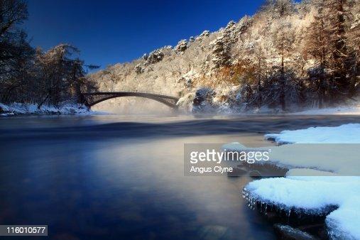 Telford Bridge, River Spey Scotland