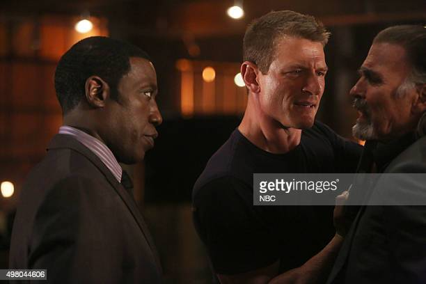 THE PLAYER 'Tell' Episode 108 Pictured Wesley Snipes as Mr Johnson Philip Winchester as Alex Jeff Fahey as Jack Fuller