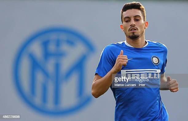 Telles of FC Internazionale trains during FC Internazionale training session at the club's training ground on September 2 2015 in Appiano Gentile...