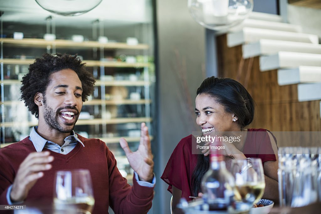 Telling a story : Stock Photo