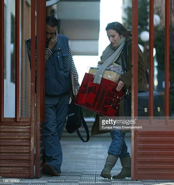 Telma Ortiz is seen on December 26 2011 in Madrid Spain