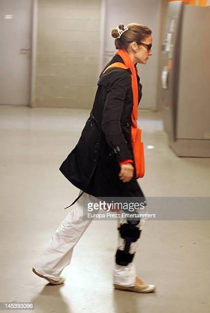 Telma Ortiz is seen on May 21 2012 in Barcelona Spain