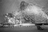 Telstar Satellite In Andover Andover 13 Juillet 1962 Le satellite TELSTAR transmetteur d'images télévisées à travers l'Atlantique sous le radôme qui...