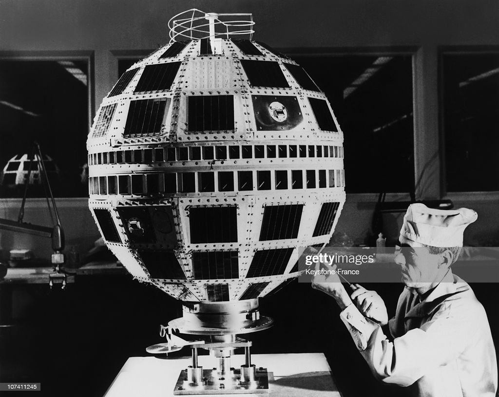 Telstar, The First Communication Satellite In Usa In 1962.