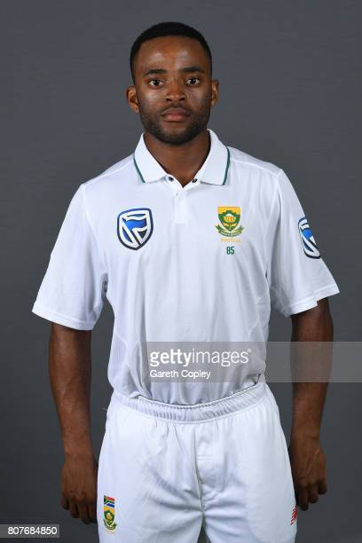 Temba Bavuma of South Africa poses for a portrait at Lord's Cricket Ground on July 4 2017 in London England