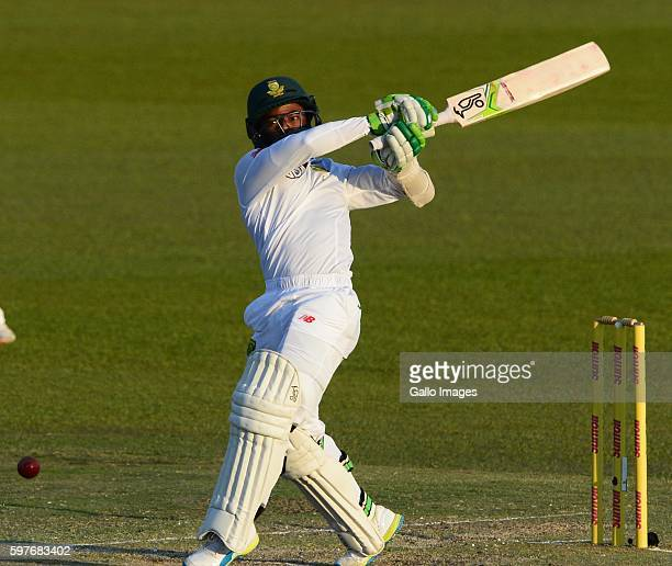 Temba Bavuma of the Proteas during day 3 of the 2nd Sunfoil International Test match between South Africa and New Zealand at SuperSport Park on...