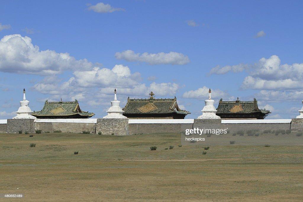 Tempelanlagen von Karakorum Mongolei : Foto de stock