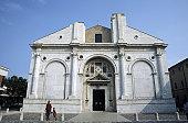 Tempio Malatestiano, Rimini, Emilia Romagna, Adriatic coast, Italy, Europe