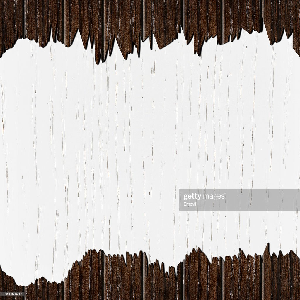 template of cracked wood board : Stock Photo