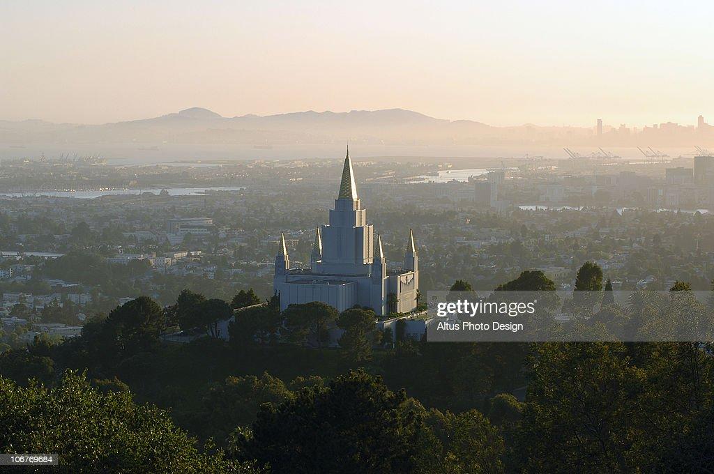 Temple at Dusk, Oakland, California