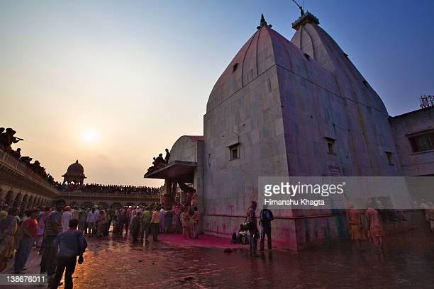 Temple at Nand Gaon in Mathura, India