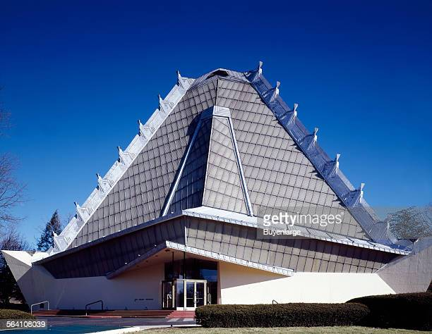 Temple Beth Shalom designed by Frank Lloyd Wright Elkins Park Pennsylvania