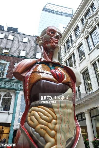 'Temple' by Damien Hirst 2008 Sculpture in the City of London returns for the seventh year to the Square Mile with contemporary works from...