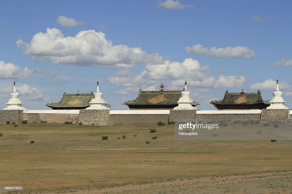 Tempelanlagen von Karakorum Mongolei : Stock Photo
