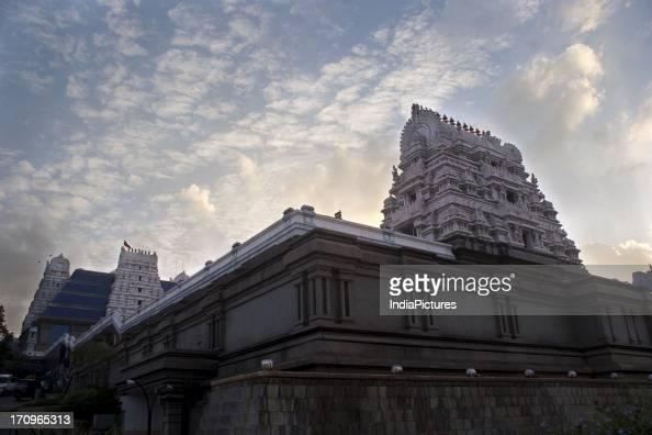 Temple constructed by the ISKCON society to commemorate the birth of its founder Sri Prabhupada Bengaluru Karnataka India