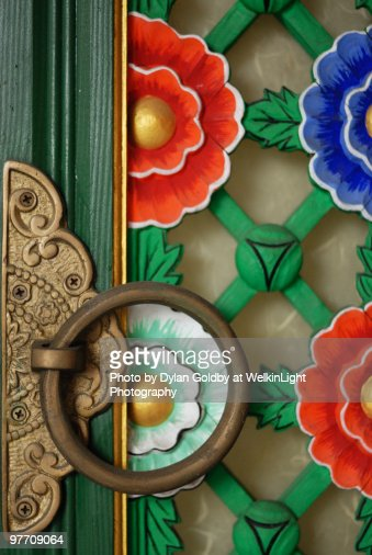 Temple Door, South Korea