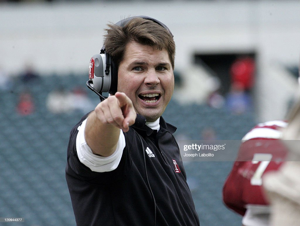 Temple head coach Al Golden wins his first game at Temple University as the Temple Owls defeated the Bowling Green Falcons 28 to 14 at Lincoln...