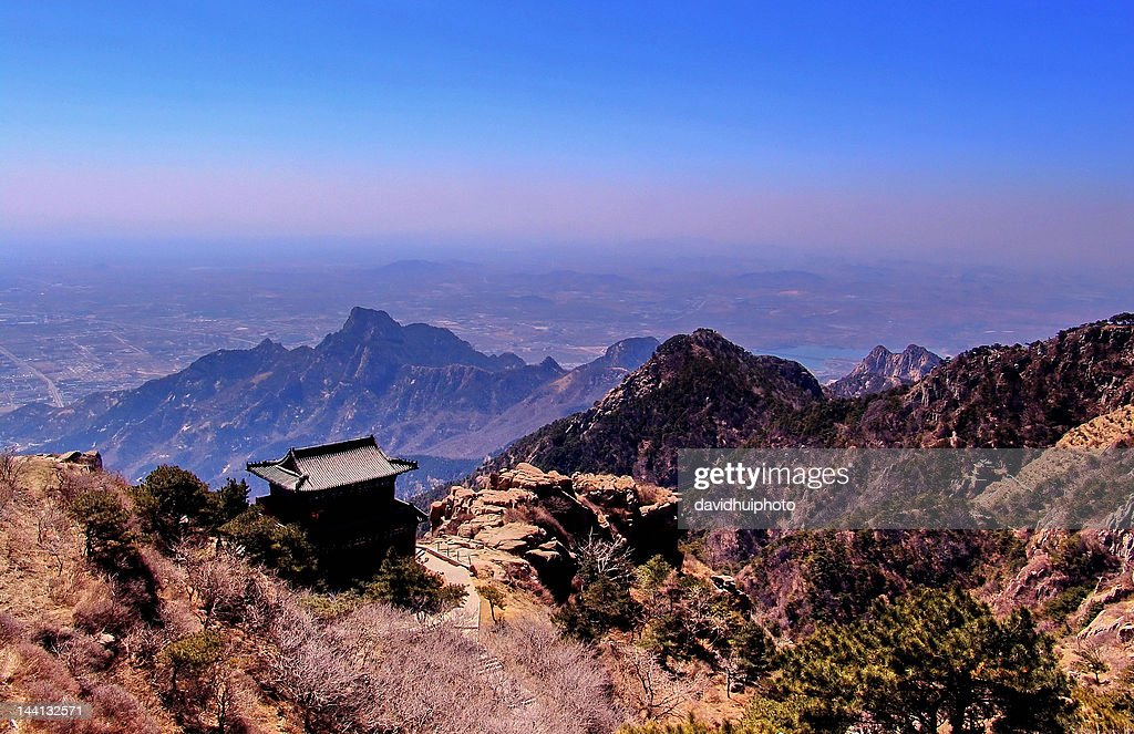Temple in Mt. Taishan, China