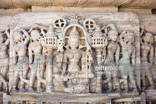 Temple In Ranakpur, India