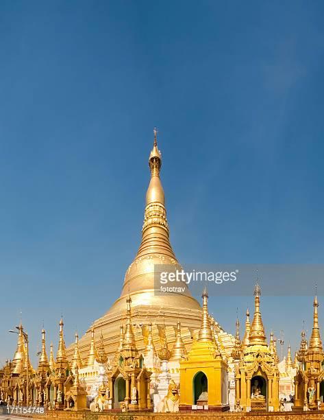 Temple in the Shwedagon Pagoda, Myanmar
