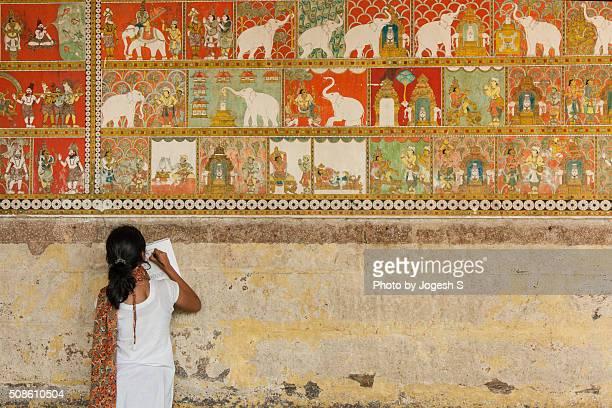 Temple murals of Madurai