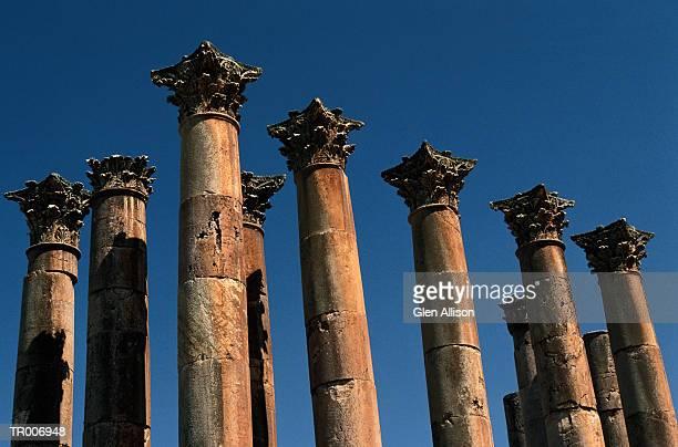 Temple of Artemis in Jerash, Jordan