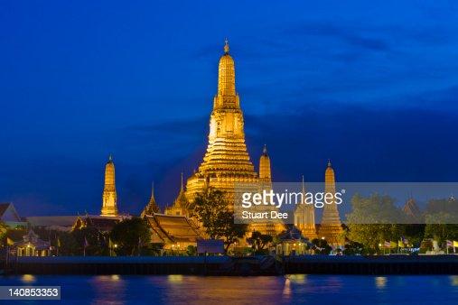 Temple of Dawn, Bangkok, Thailand : Stock Photo
