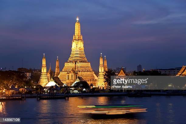 Temple of Dawn, Chao Phraya River, Bangkok