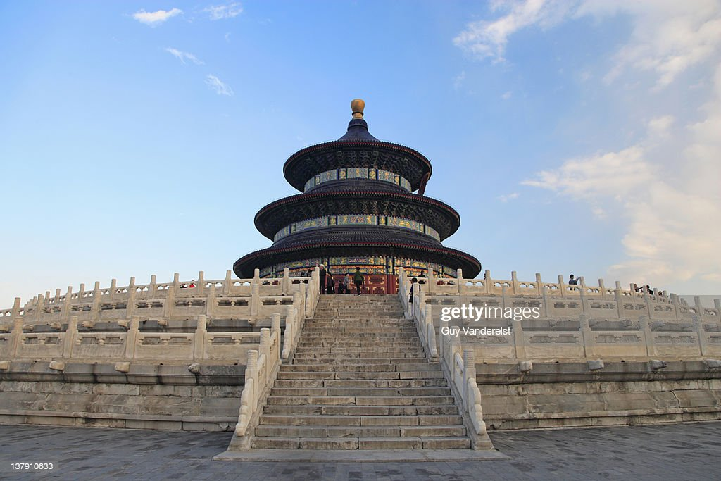 Temple of Heaven in Beijing. : Stock Photo