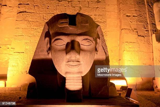 Templo de Luxor, em Tebas, Egito