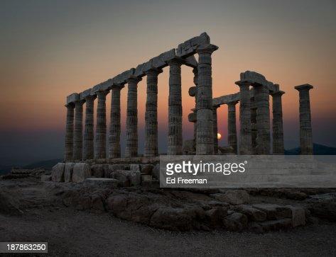 Temple of Poseidon, Sounion, Greece