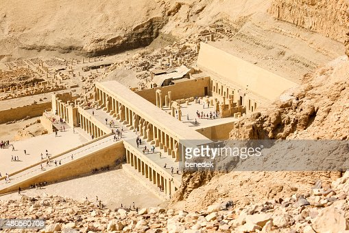 Temple of Queen Hatshepsut Egypt : Stock Photo