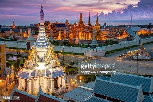 Temple of the Emerald Buddha or Wat Phra Kaeo