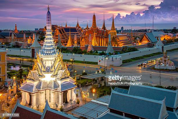 Temple of the Emerald Buddha or Wat Phra Kaeo