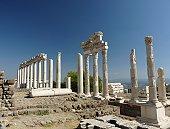 Temple of Trajan in Bergama