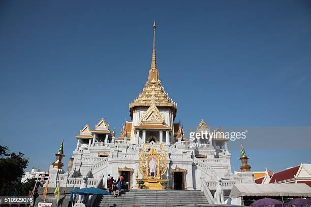 Temple of Wat Traimit in Bangkok