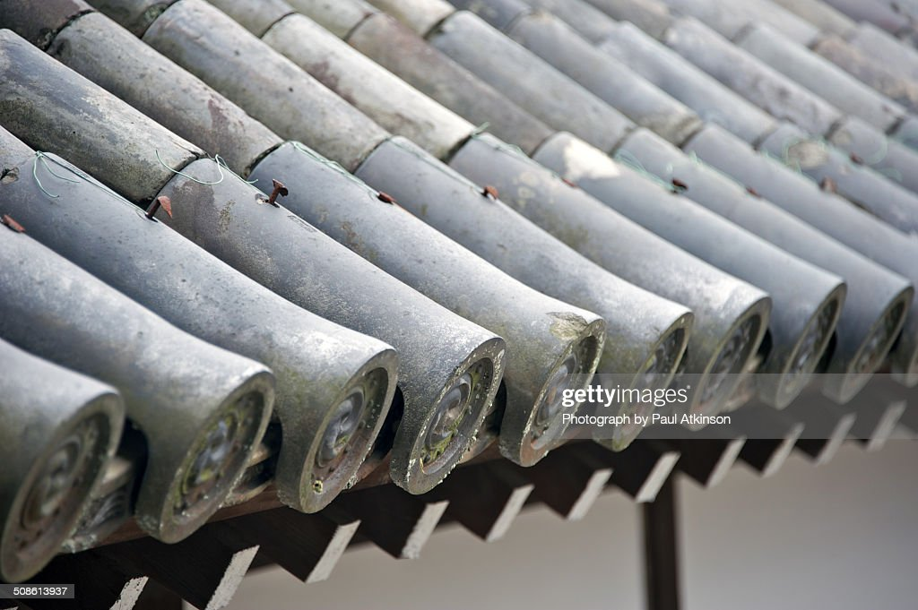 Temple Roof, Kyoto : Stock Photo