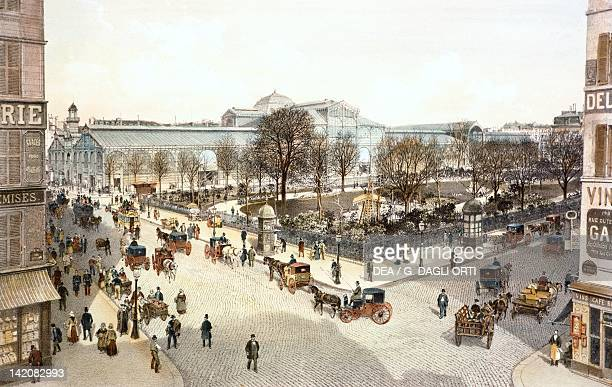 Temple Square Paris France 19th century