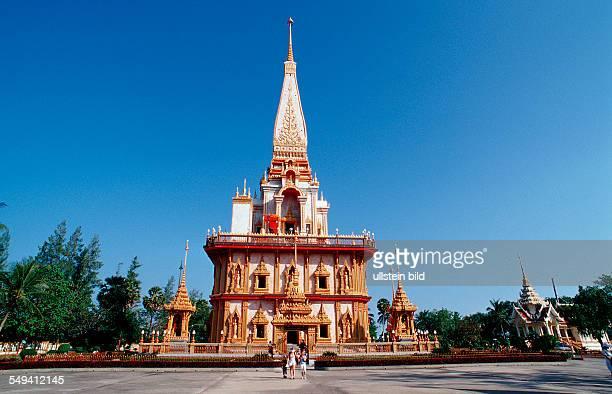 Temple Thailand Phuket Wat Phra Thong