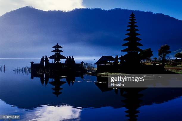 Temple to Ulun Danu goddess of the water